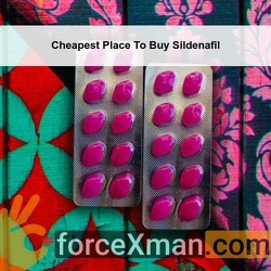 Cheapest Place To Buy Sildenafil