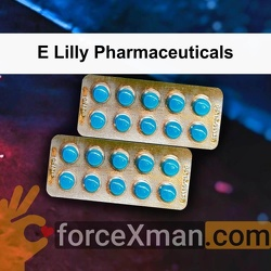 E Lilly Pharmaceuticals