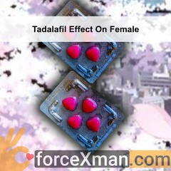 Tadalafil Effect On Female 189