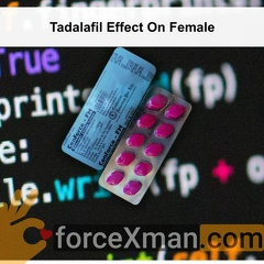 Tadalafil Effect On Female 881